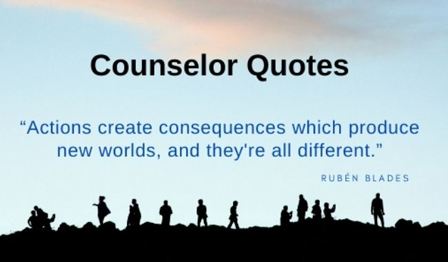 counselor quotes