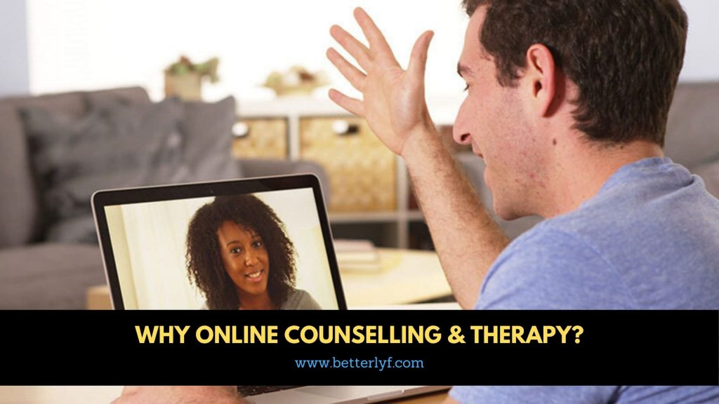 why online counseling and therapy?